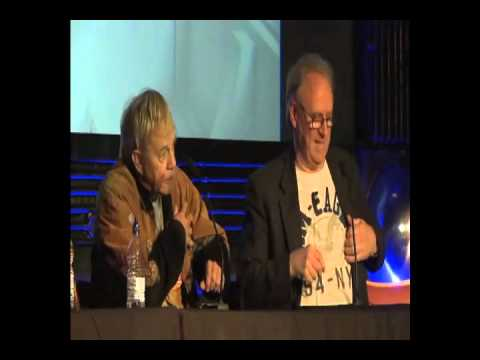 Frazer Hines and Peter Davison