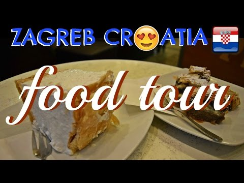 Fast & Simple Zagreb Food Tour with Best of Zagreb! | Daily Travel Vlog 148, Croatia, HD