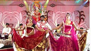 अरे लिख लिख पाती भेजी राम ने   तुम दुर्गा चली आयो माँ   बुंदेली देवी भगत में बेड़नी नाच   हरिदास यादव