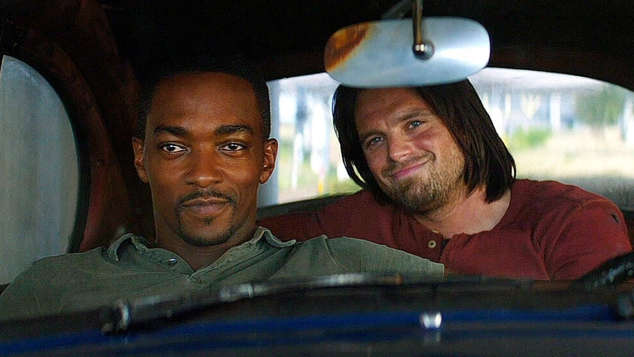 """Can You Move Your Seat Up?"""" - Falcon & Winter Soldier - Captain America: Civil War (2016) - YouTube"""