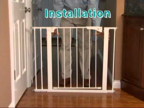 Kidco Stairway Gate Installation Kit Review   YouTube