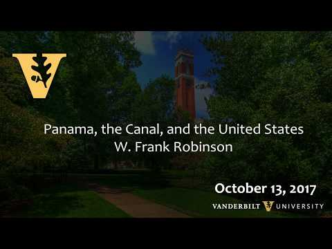 Crossroads of the World, Panama Canal: W. Frank Robinson