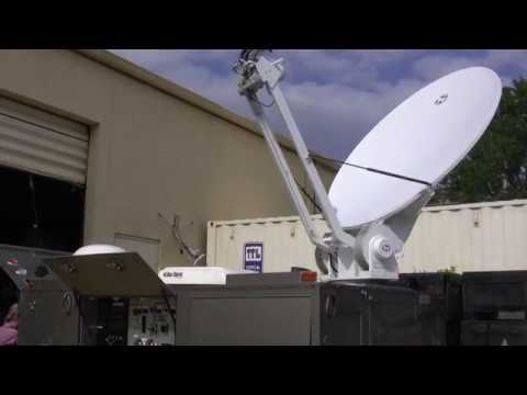 Satellite Emergency Broadcast & Video Uplink Trailer