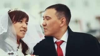 слишком много поцелуев)))) прикольный свадебный ролик!!! г. Омск)))))))