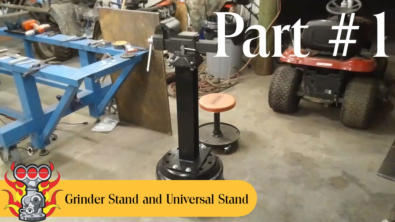 Bench Vise Stand And Universal Stand Build Part 1 Or 5