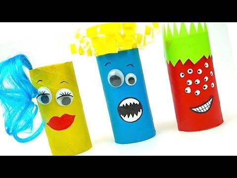 Игрушки для детеи, делаем игрушки своими руками, учимся рукоделию, учим цвета и формы, Игрушкин ТВ
