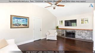 Priced at $729,900 - 2768 Surrey Lane, Escondido, CA 92029