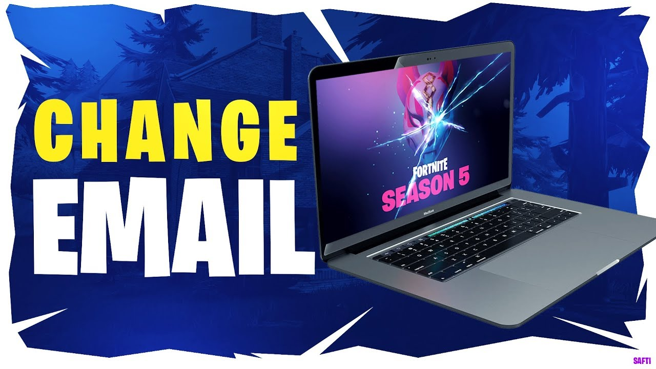 How to Change your Epic Games Email / Fortnite Email - New ...