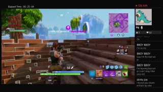 Fortnite Squaaaad (Full Stream Win)