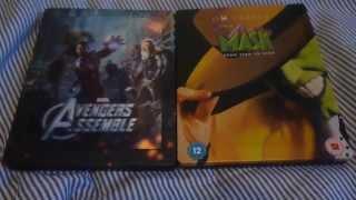 Bluray Steelbook Update - Avengers 3D & The Mask
