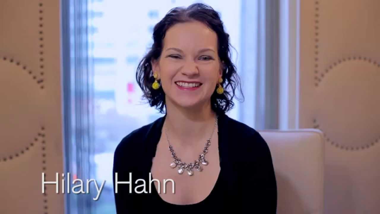 Hilary Hahn Talks/Rehearses Korngold Violin Concerto