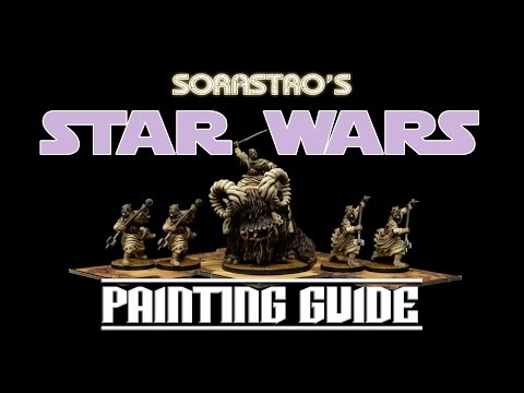 Star Wars Imperial Assault Painting Guide Ep.24: Bantha & Tusken Raiders