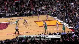 paul pierce game winner vs the heat game 3 playoffs come to chicago wade