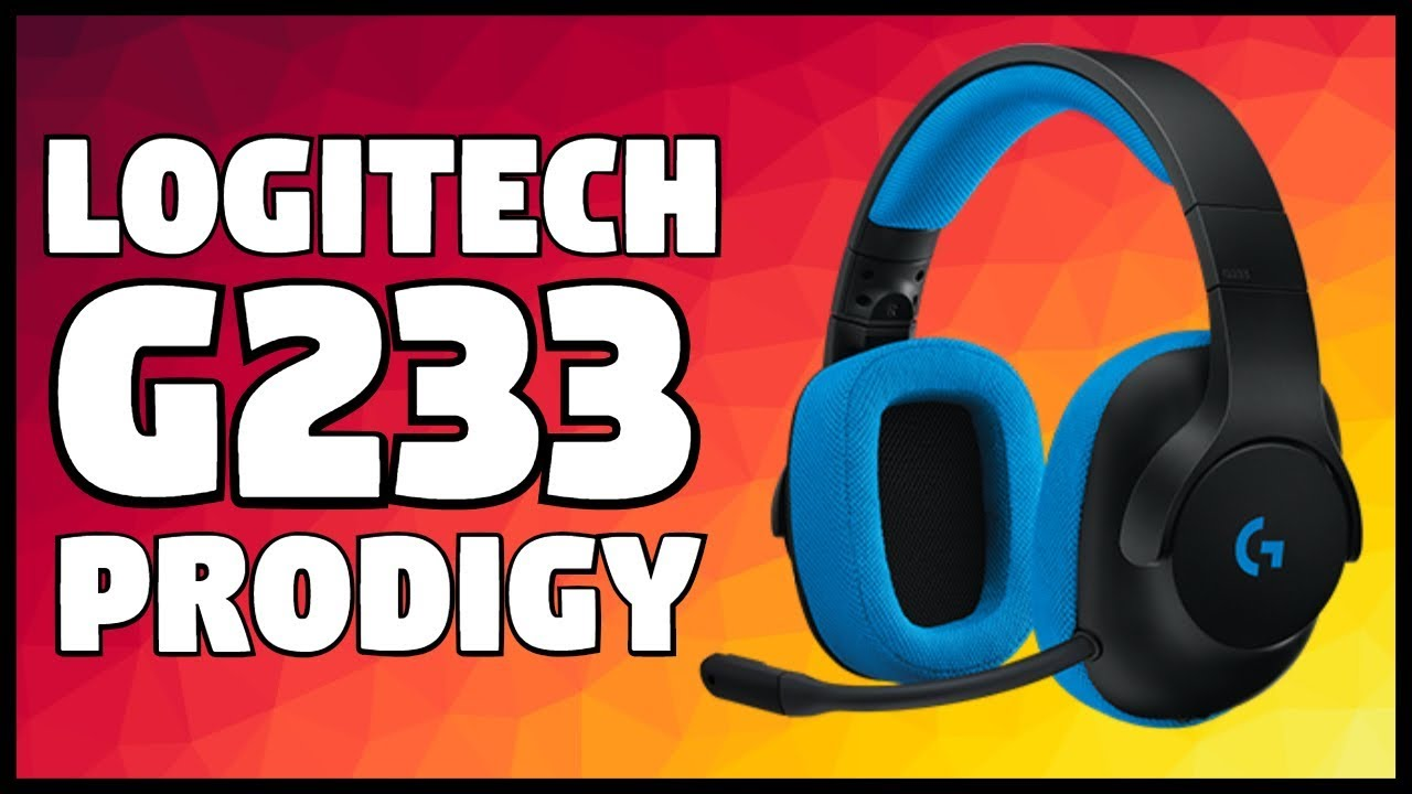Logitech G233 Prodigy Headset Review w/ Unboxing & Mic Test!