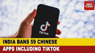 Govt Bans 59 Chinese Apps Including Tiktok As Border Tensions Simmer In Ladakh