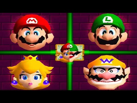 Mario Party 2 - All Minigames