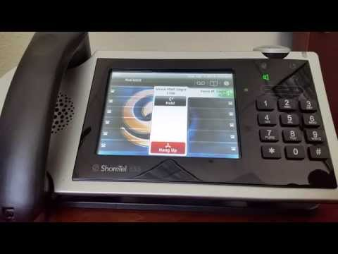 Assigning a User to a ShoreTel IP655 Phone