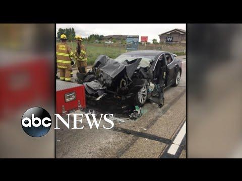A Tesla car crash near Salt Lake City, Utah, is under investigation