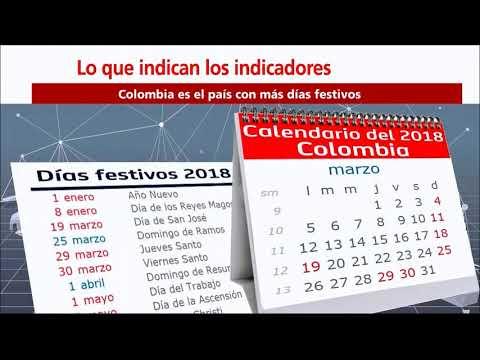 Indicadores: Colombia Es El País Con Más Días Festivos