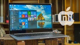 Обзор Xiaomi Mi Notebook Pro и сравнение с MacBook Pro. Дешево и сердито, но не то же самое.