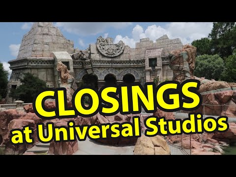 Ride Closures at Universal Studios Orlando | Riding One Last Time Before They Close