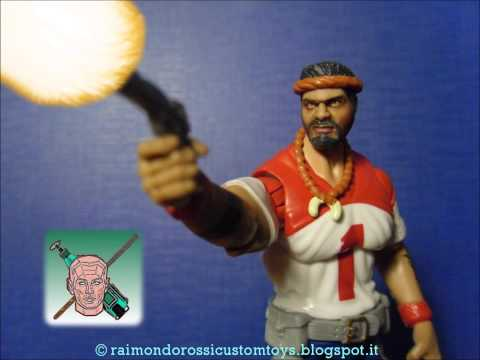 custom action figure gijoe red dog