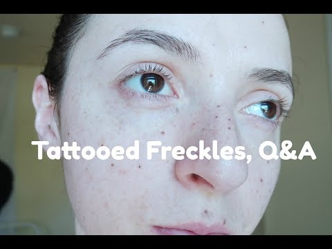 Freckle Tattoos, All Questions Answered!