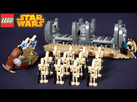 lego droid carrier 7929 instructions