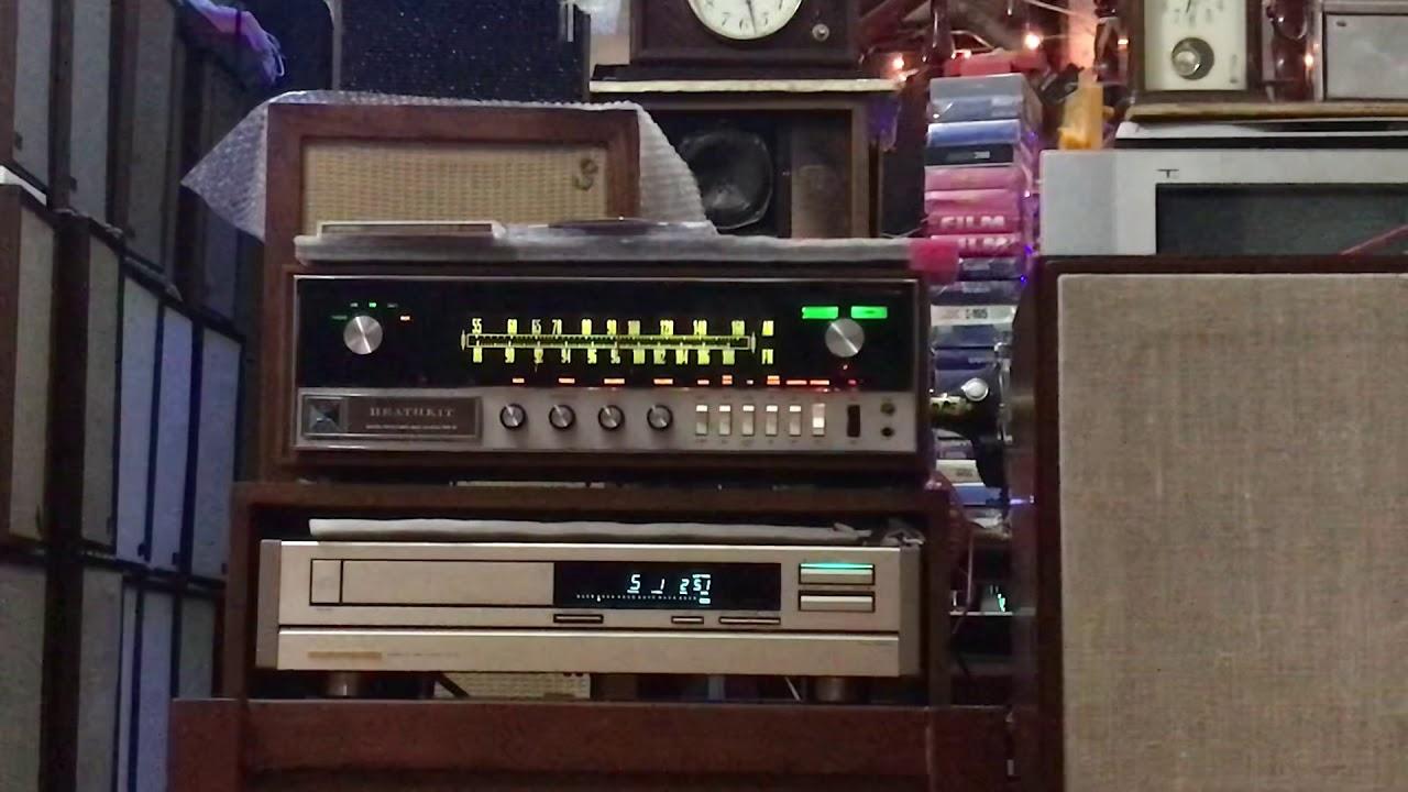 Heathkit ar 15 tét máy hát hoàn hảo …lh 0945001818 toàn loa đông anh HN