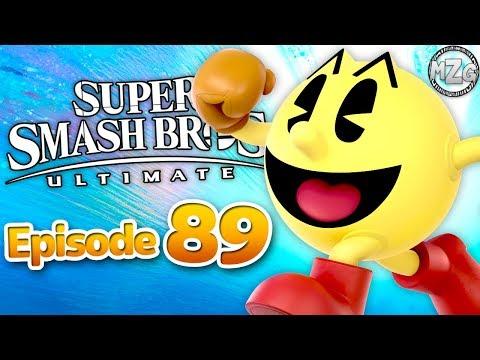 Super Smash Bros. Ultimate Gameplay Walkthrough - Episode 89 - Pac-Man! Classic Mode!