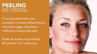 Procedimento - Peeling de cristal ou Microdermoabrasão