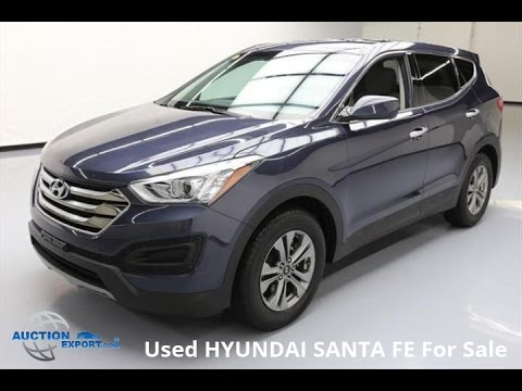 used hyundai santa fe for sale in usa shipping to your country youtube. Black Bedroom Furniture Sets. Home Design Ideas