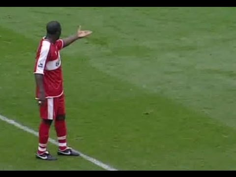 Middlesbrough v Everton 2006-07 YAKUBU CAHILL GOAL P*** TAKE CELEBRATION