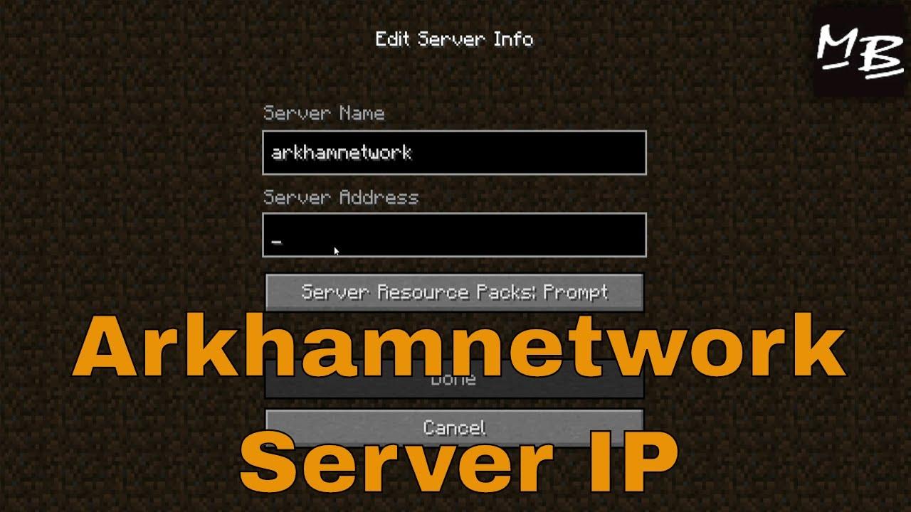 ArkhamNetwork | Minecraft Server | Minecraft Hub