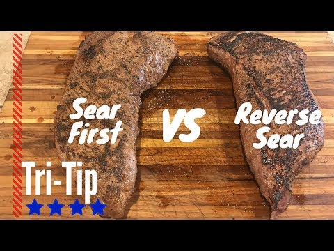 Reverse Sear VS  Sear First | Smoked Tri Tip On The Pit Barrel Cooker