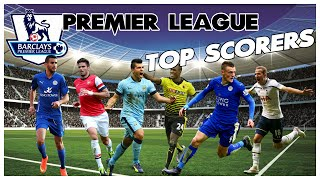 Premier League Top Scorers | Season 2015/16 | Top Scorers: 2016-03-22 |