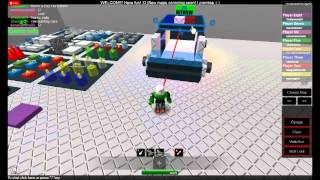 Roblox:How to make a SUV police car part 2