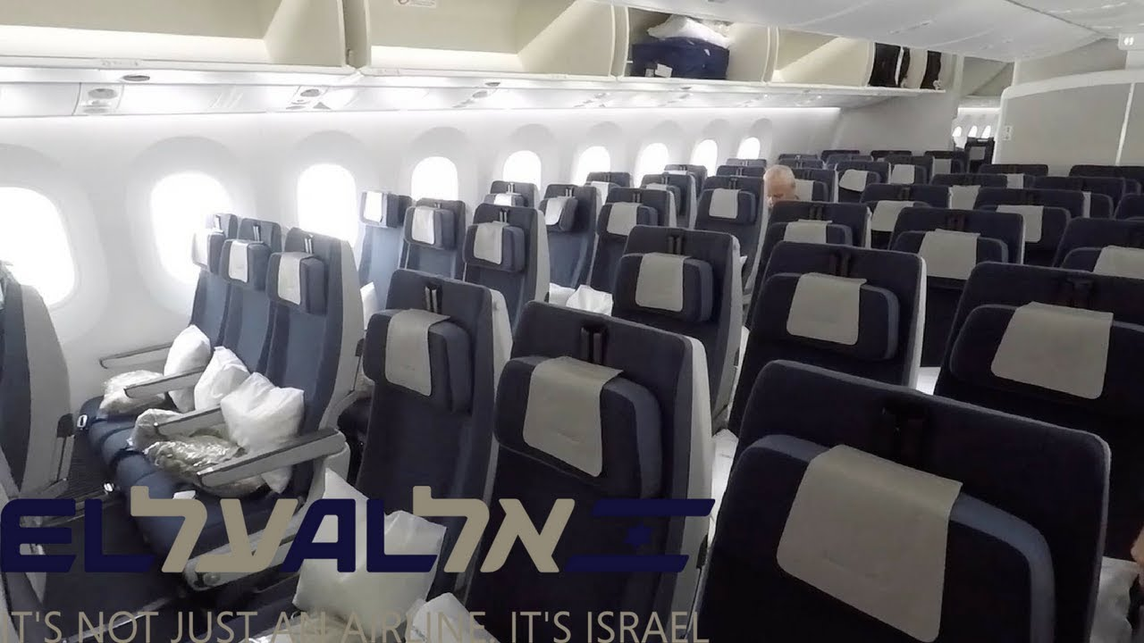 Cabin tour el al boeing economy class london lhr tel aviv tlv also rh youtube