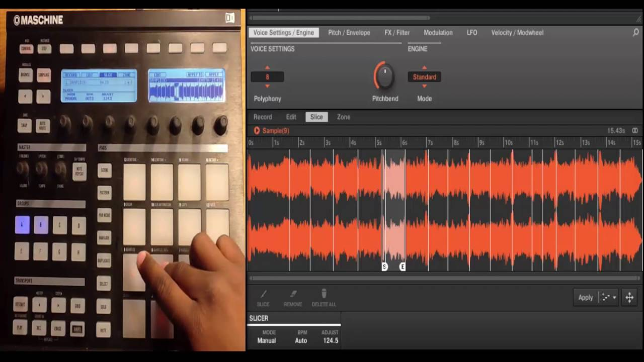 Live Slice Soul Samples and Drum Breaks like a Pro - Maschinemasters.com