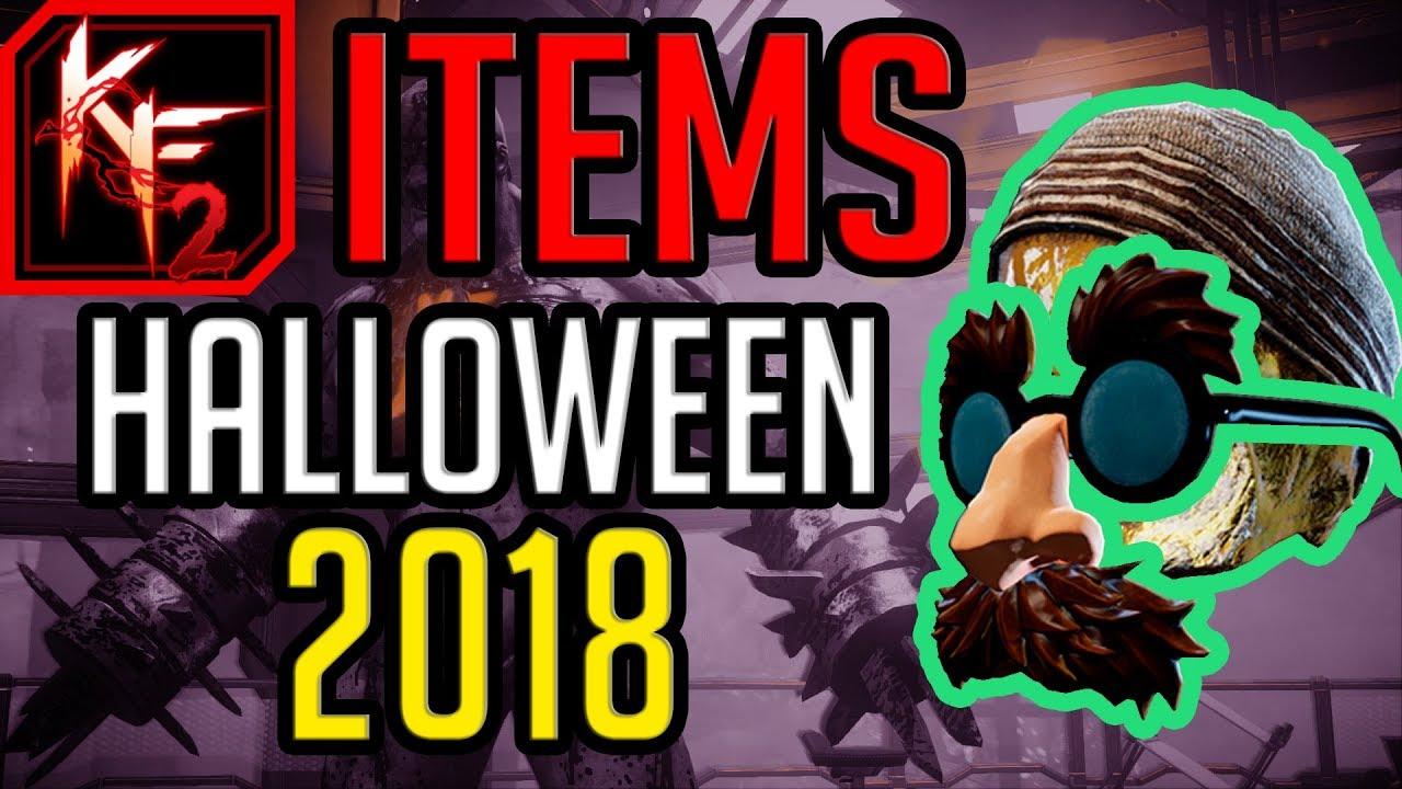 Kf2 Halloween 2020 Cosmetics Killing Floor 2   LEAKED 2018 Halloween Cosmetic Items (KF2