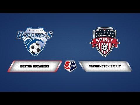 Boston Breakers vs. Washington Spirit - June 1, 2014