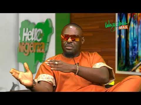 JIM IYKE  _ MY CHILDHOOD EXPERIENCE - HELLO NIGERIA