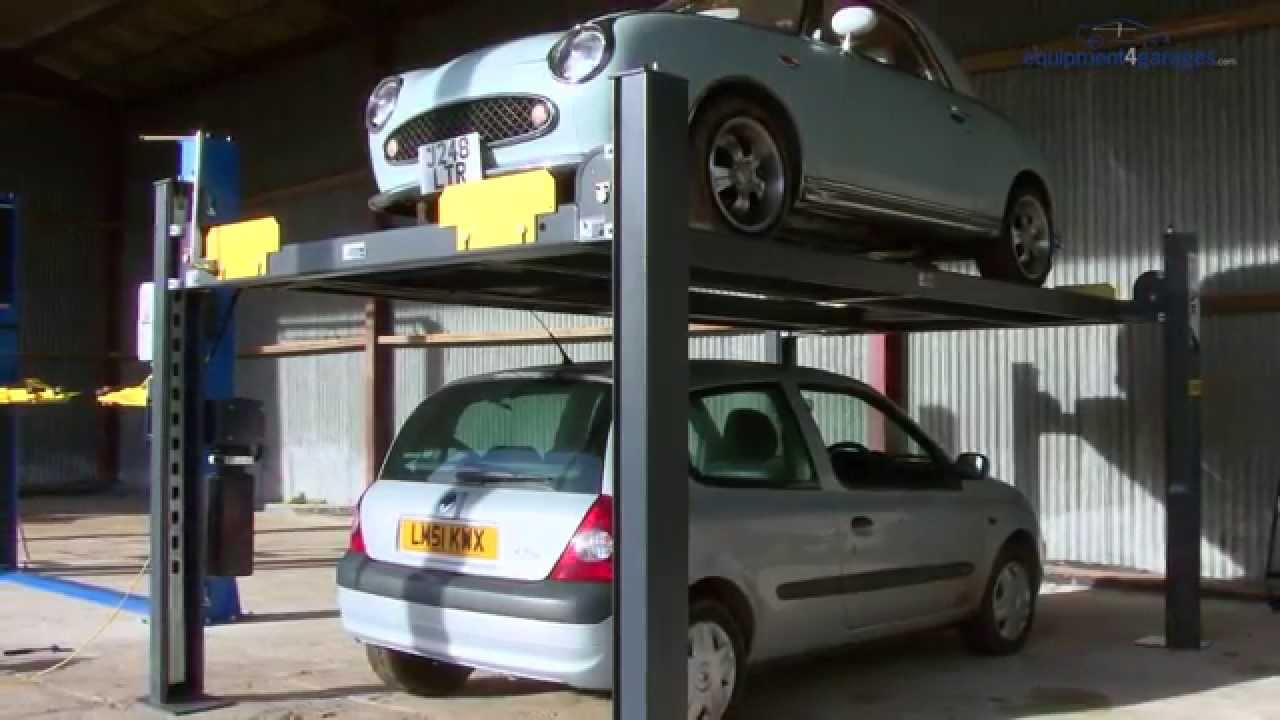 Parking Lift Car Ramp Storage 4 Post You