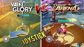 Vainglory vs Onmyoji Arena - Joystick and Graphics Comparison | Android/IOS Gameplay