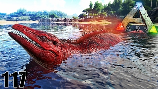 JE CHASSE LE MONSTRUEUX ALPHA MOSASAURUS ! | ARK: Survival Evolved ! #Ep117