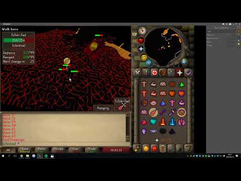 Jad Fight Cave with RuneLite Client (REMOVED)