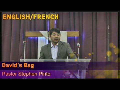 Pastor Stephen Pinto - David's Bag - English/French