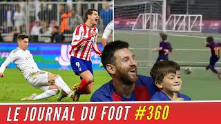 VIDEO: Le SACRIFICE de VALVERDE, le fils de MESSI marque son 1er but avec le BARCA