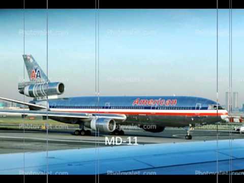 American Airlines Retired Fleet Youtube