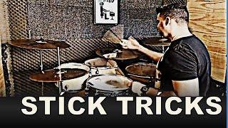 Stíck Trícks truque com baquetas - AULA DE BATERIA
